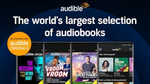 Download New Version of Audible Mod APK-Latest 1